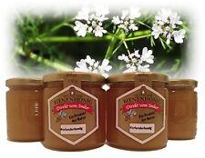 Vier Gläser Korianderhonig, 500g, Honig aus dem Balkangebirge