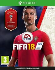 FIFA 18 Xbox One Now Released 29th September