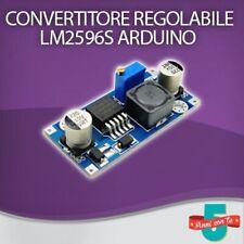 MODULO CONVERTITORE LM2596S REGOLABILE DC-DC STEP DOWN ALIMENTATORE ARDUINO