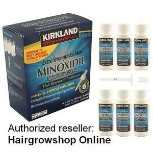 Kirkland Minoxidil5% Lotion 6 Months READ ADVERTISEMENT EU SHIPMENT = NO CUSTOM