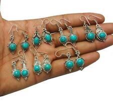 Turquoise 20pr Wholesale Lots 925 Sterling Silver Plated Earrings KE-2700