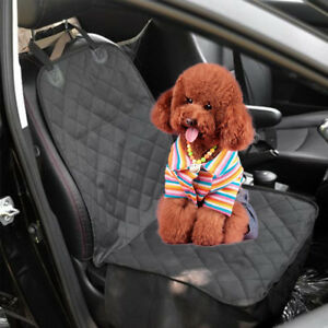 Pet Dog Water Resistant Front Seat Car Seater Cover Covers Protector Mat UK