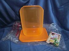 Tupperware großer Eidgenosse, 4,3 Liter in orange, Sonderprodukt