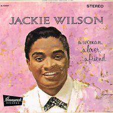 JACKIE WILSON a woman a lover a friend U.S. BRUNSWICK LP BL-54059_orig 1961