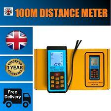 100m Laser Distance Meter Digital Ultrasonic Range Finder Measure Diastimeter