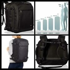 Black Carry On Travel Backpack Outdoor Travel Laptop Sleeve Carrier bag Tote NEW
