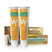 Pearlie White Advanced Sensitive Toothpaste 130gm (Bundle of 2)