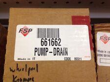 Whirlpool/kenmore Dishwasher Drain Pump 661662