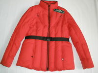 RALPH  ACTIVE QUILTED DOWN RED WINTER WOMEN'S JACKET XL NEW RARE