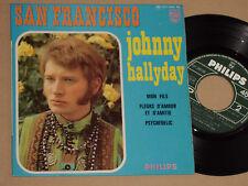 "JOHNNY HALLYDAY -San Francisco- 7"" EP 45"