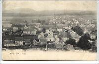 Tambach alte Postkarte 1906 gelaufen nach Hamburg mit Panorama Ansicht Totale