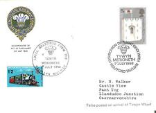 1969 TOPICAL RAILROAD WELSH RAILWAY GREAT BRITAIN COVER