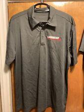 Lagunitas Brewing Company Polo Shirt 2Xl Gray Port Authority Polyester Golf 420