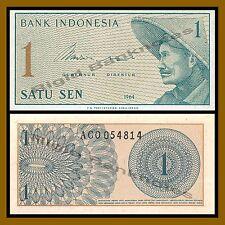 Indonesia 1 Sen, 1964 P-90 Unc