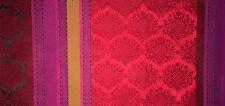 DESIGNERS GUILD Perrault Taillandier Pink Stripe Silk India New Remnant