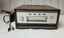 Vintage Zenith Quadrophonic 8 Track Player Tape Deck Model D762W Tested