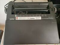 Brother AX-28 Word Processor Electric Typewriter Zx-50 with manual