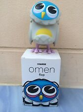 "Coarsetoys Coarse 3.5"" Omen Flop Vinyl Figure. Pretty Owl"