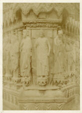 Photo Charles Marville Papier Salé Salt Print Rheims 1854