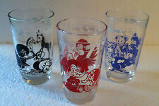 Vintage Kitchen Collectible Swanky Swigs Glasses