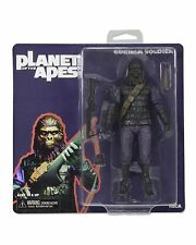 """Classique Planet of the Apes GORILLA SOLDIER Style Rétro EMBALLAGE Figurine NECA 7"""""""