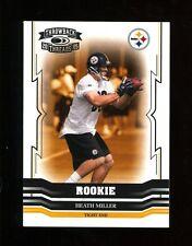 2005 Donruss Throwback Threads Heath Miller RC #162 Steelers 999/999 Last One