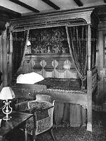 "Photo: 7"" x 5"": RMS Titanic Interior: The 1st Class Single Bunk Bedroom Suite"
