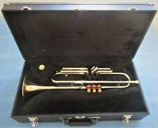 Trompete Reynolds Ranger in Bb Silber mit Koffer