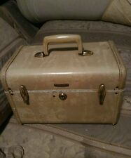 Vtg Streamlite Samsonite Cosmetic Train Overnight Case Luggage 4512 Suitcase
