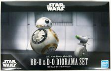 Bandai Star Wars BB-8&D-O Diorama Set (Star / The Rise de Skywalker) 1/12 Kit