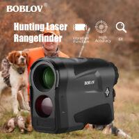 1000Yard 6X22 Hunting Golf Range Finder Distance Speed Measurer Monocular USB