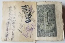 POLAND 1 ZLOTY BANKNOTE 1941 ORIGINAL BUNDLE OF 100 BANKNOTES RARE NO RESERVE