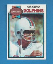 Miami Dolphins Bob Griese signed card