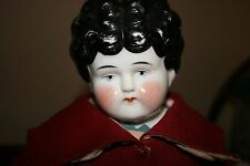 "Antique China Head Doll 21"" Pet Name 'AGNES' by Hertwig/Butler Bros EUC"