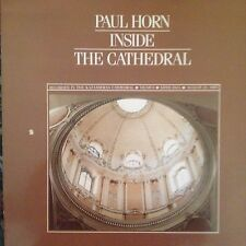 PAUL HORN 'INSIDE THE CATHEDRAL' RARE LP LIKE NEW 1983 KUCKUCK IMPORT