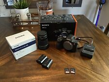 Sony A7R IV 35mm Full-Frame, Sigma 30MM, Extra Battery And Two Memory Cards 256g