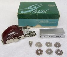 Vintage GREIST Automatic DECORATIVE ZIGZAGGER Sewing Style #1 Box & Accessories
