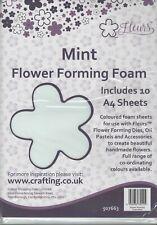 Fleurs ~ Flower Forming Foam ~ 10 A4 sheets ~ Mint