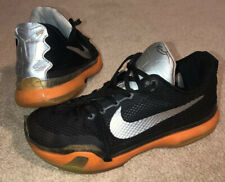Nike Kobe Bryant X All-Star 742546-097 Black, Orange, Silver Men's US 9.5 RARE