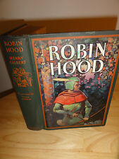 1932 - ROBIN HOOD Hendy Gilbert/Illust.by Frank Godwin Published by Garden City