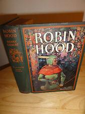 1932 - ROBIN HOOD Hendy Gilbert/Illust.by Frank Godwin Published by Garden City