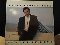 BRUCE SPRINGSTEEN TUNNEL OF LOVE LP 1987 COLUMBIA OC 40999 DJ PROMO