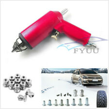 1000 Pcs Car SUV Winter Snow Tires Studs Screw&Tyre Nail Air Repair Gun Tool Kit