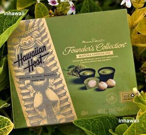 """Hawaiian Host """"Matcha Macs"""" green tea chocolate covered macadamia nuts FRESH!!!!"""