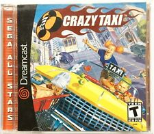 VINTAGE SEGA DREAMCAST CRAZY TAXI GAME ~ SEGA ALL STARS COMPLETE WITH BOOKLET