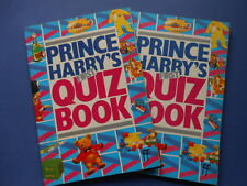 ## PRINCE HARRY'S FIRST QUIZ BOOK - HARDIE 1985 -  PRINCE HARRY OF WALES - HENRY