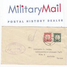 1955 Pakistan Karachi H.M. Prison IQBAL Cachet & Datestamp Cover to Austria