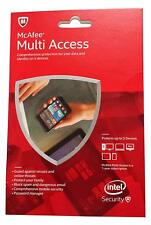 McAfee 2015 Multi Access 1 User 5 Devices MMD15E