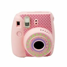 Cute Fujifilm Instax Mini 8 Camera Decoration Body Sticker Decal Sunflower-Pink