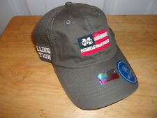 """Mississippi State Bulldogs """"Distressed Flag"""" Hat Cap NWT MSRP $22.99 Free Ship!"""